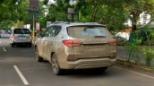 Mahindra Rexton (G4 SsangYong Rexton spy shot rear three quarters