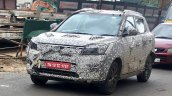 Mahindra S201 (SsangYong Tivoli derivative) spy shot front three quarters