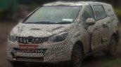 Mahindra U321 spy media (Maruti Ertiga:Toyota Innova challenger) grille headlight bumper windshield spyshot