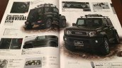 New Suzuki Jimny Sierra accessories brochure body kit 2