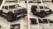 New Suzuki Jimny Sierra accessories brochure body kit