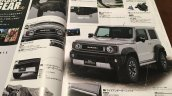 New Suzuki Jimny Sierra accessories brochure