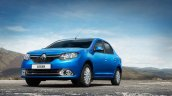 Renault Logan front three quarters