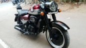 Royal Enfield Classic 350 modified front right quarter