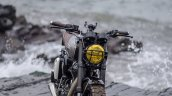 Royal Enfield Classic 500 modified scrambler 'Reckless' by Bulleteer Customs front