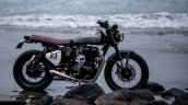 Royal Enfield Classic 500 modified scrambler 'Reckless' by Bulleteer Customs side profile