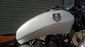 Royal Enfield Thunderbird bobber Nirankush by Dochaki Customs fuel tank