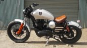Royal Enfield Thunderbird bobber Nirankush by Dochaki Customs left side