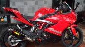 TVS Apache RR 310 with Akrapovic exhaust
