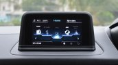 Tata Nexon AMT infotainment system floating display