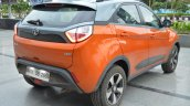 Tata Nexon AMT rear three quarters right side