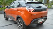 Tata Nexon AMT rear three quarters