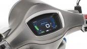 Vespa Elettrica e-scooter digital instrument cluster display