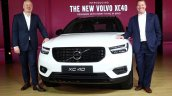 Volvo XC40 launched in India