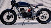 Yamaha RD 350 cafer racer by Moto Exotica left side profile