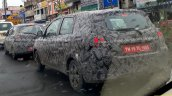 2018 Datsun GO+ (facelift) rear three quarters spy shot