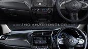 2018 Honda Brio vs. 2016 Honda Brio interior