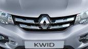 2018 Renault Kwid razor edge chrome front grille