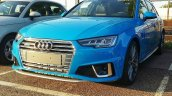 2019 Audi A4 Avant (facelift) Turbo Blue front three quarters