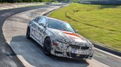 2019 BMW 3 Series prototype Nurburgring
