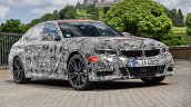 2019 BMW 3 Series prototype front quarters