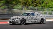 2019 BMW 3 Series prototype front view