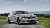 2019 BMW 3 Series prototype press shot