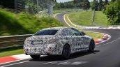 2019 BMW 3 Series prototype rear quarter