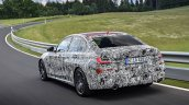 2019 BMW 3 Series prototype rear quarters