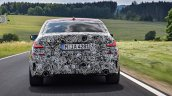 2019 BMW 3 Series prototype rear