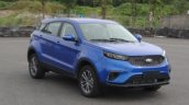 2019 Ford Territory blue front three quarters