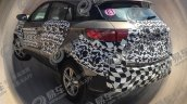 2019 Ford Territory rear three quarters spy shot