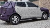 2019 Ssangyong Tivoli (facelift) side spy shots