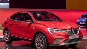renault arkana front three quarters moscow 2018 im ad14