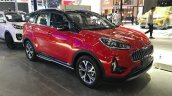 2019 kia kx3 facelift front three quarters spy sho 77fa