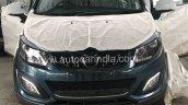 mahindra marazzo image front headlights grille 9f70