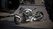 Custom Royal Enfield 650 Lockstock Dragster Left S