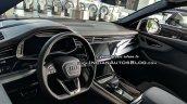 Audi Q8 interior dashboard live image