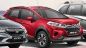 Honda WR-V Alive edition front three quarters