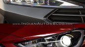 Hyundai Elantra Old vs New Comparison Front Headlamps image