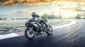 Kawasaki Ninja H2R dynamic front quarter