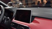 MG HS infotainment system live image
