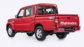 New Mahindra Pik-Up (facelift) rear three quarters