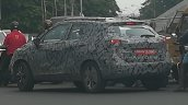 Nissan Kicks rear three quarters spy shot India