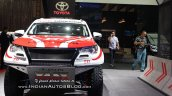 Rally-spec Toyota Fortuner front at GIIAS 2018
