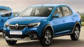 Renault Logan Cross front three quarters