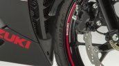 Suzuki GSX-R125 Accessory Pack and Graphics Kit alloy wheels