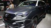 Toyota Fortuner TRD Matte Dual-Tone front quarter GIIAS 2018