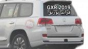 Toyota Land Cruiser Grand Touring rear fascia leaked image