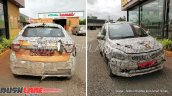 Updated Tata Tigor front and rear spy shot